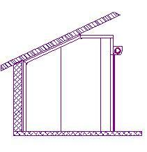 Ansager-skraat-loft