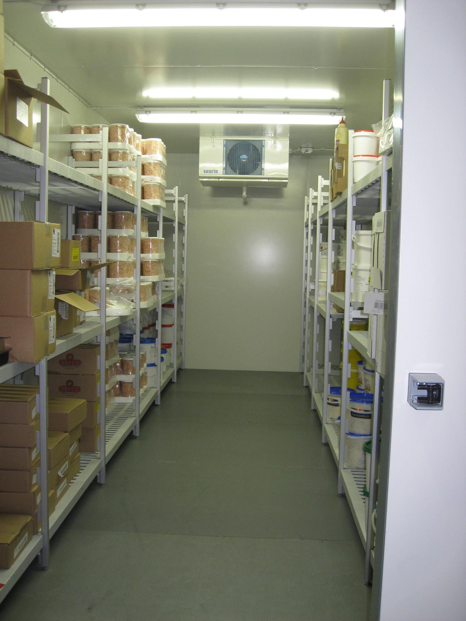 Celltherm kølerum med Hupfer reoler