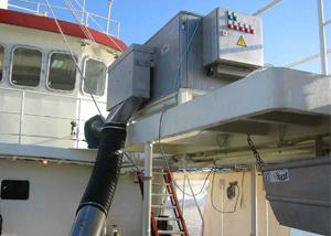 RVE-2S-maja-skaelismaskine-på-fiskekutter