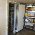 Fryserumsdør kan påbygges gammelt rum