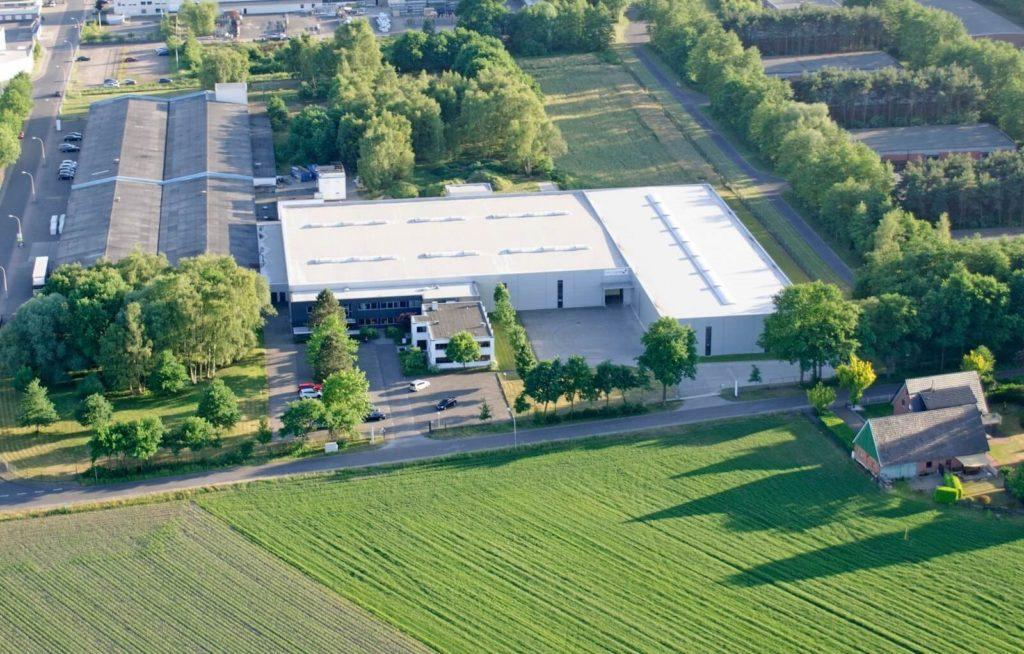 CELLTHERMs hovedsæde I Gronau Epe i Tyskland
